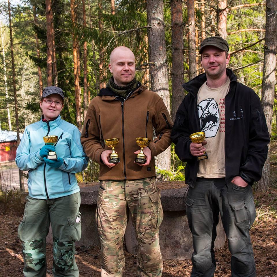 Pikijärventie 2015 palkittuja Tukoresin jäseniä